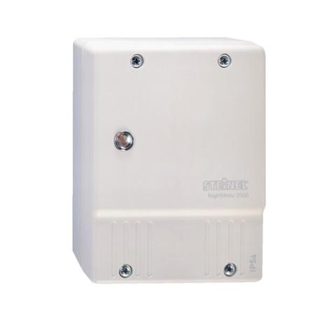 STEINEL 550417 - (Himaljiešu) Sāls lampa NightMatic 2000 balta