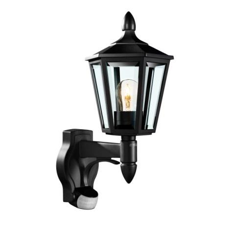 Steinel 617813 - Āra Sienas Apgaismojums ar sensoru L 15 1xE27/60W/230V