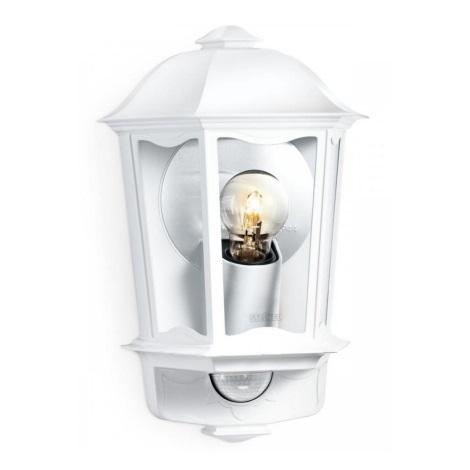Steinel 644512 - Āra Sienas Apgaismojums ar sensoru L 190 S 1xE27/100W/230V