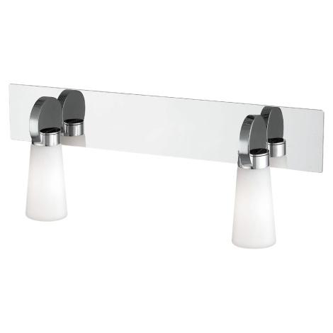 Vannas istabas sienas gaismeklis PEARL 2xG9/25W/230V