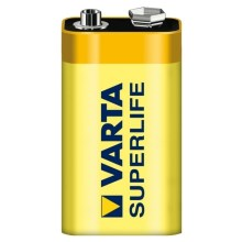 Varta 2022 - 1 gb Cinka-karbona baterija SUPERLIFE 9V